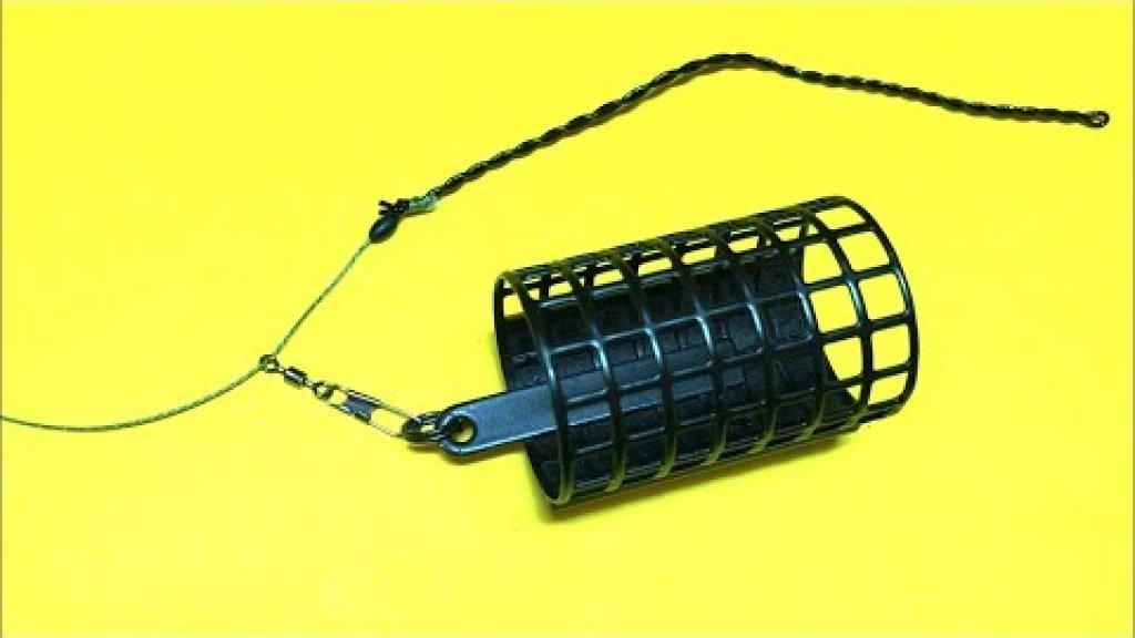 Фидерная оснастка инлайн на плетеном шнуре. Фидер для начинающих. Лайфхаки и самоделки. Рыбалка 2021