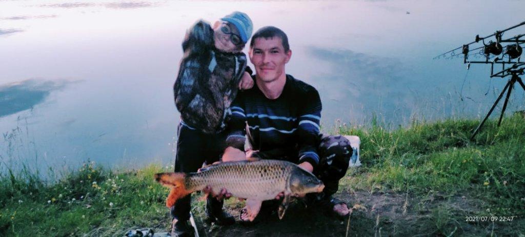 Рыбалка с сыном.