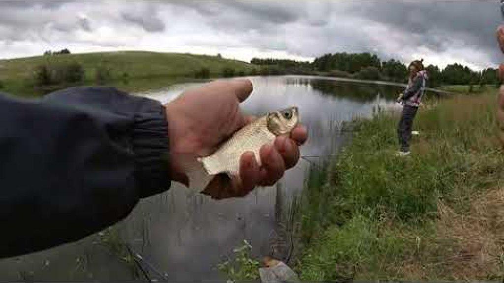 Ловля КАРАСЯ на пруду. Стоило только прикормить и карась сошёл с ума. ХАПУГА сделала рыбалку!