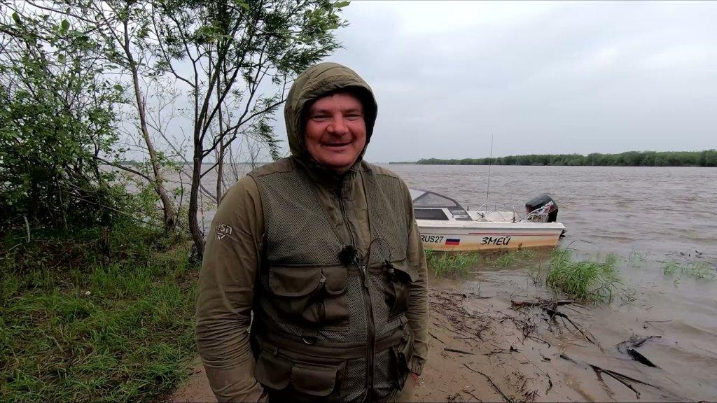 Рыбалка на краю света. Найти усатого и одолеть потоп. Путешествие на Амур 5 серия.
