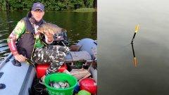 Ловля леща и карася на удочку с лодки / Как ловить леща летом и выбрать место?