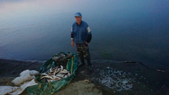 Наловили лещей и судаков на 100 000 рублей. Борьба с браконьерами продолжается