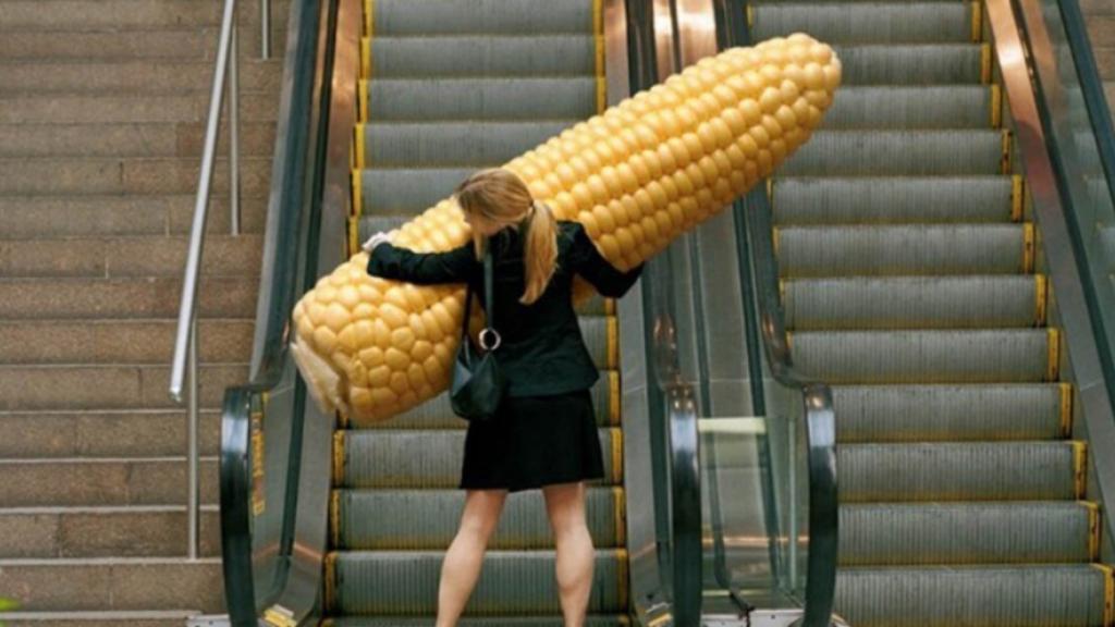 Хитрость. Как насадить кукурузу на крючок