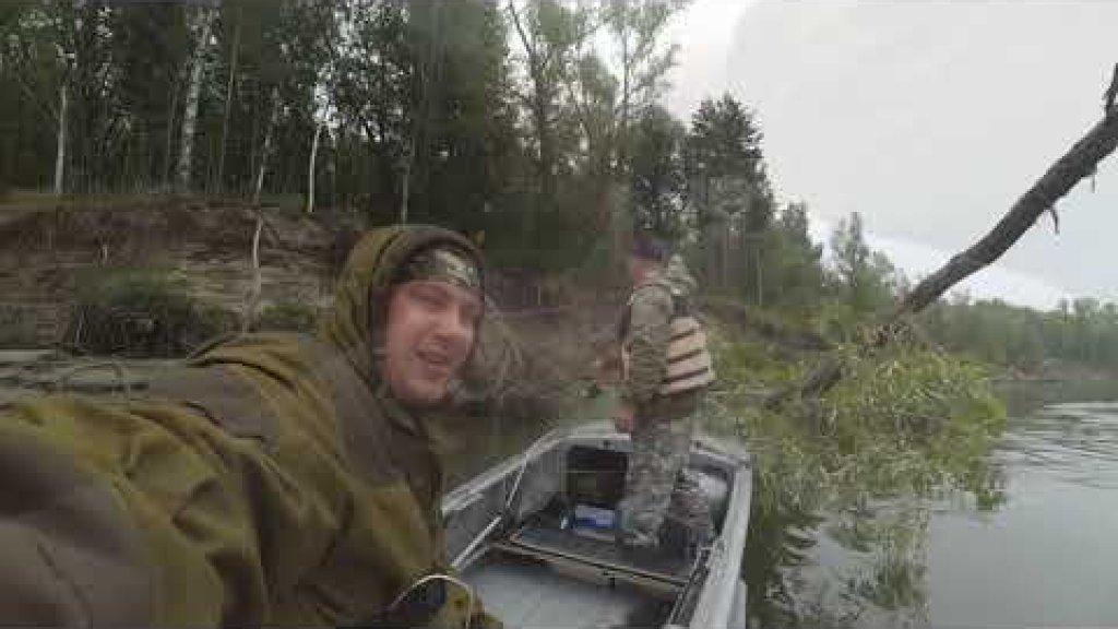 Рыбу поймали - уху сварили  Рыбалка на Оби с лодки