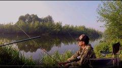 Эта маленькая речка всегда радует уловом. Сколько здесь рыбы!