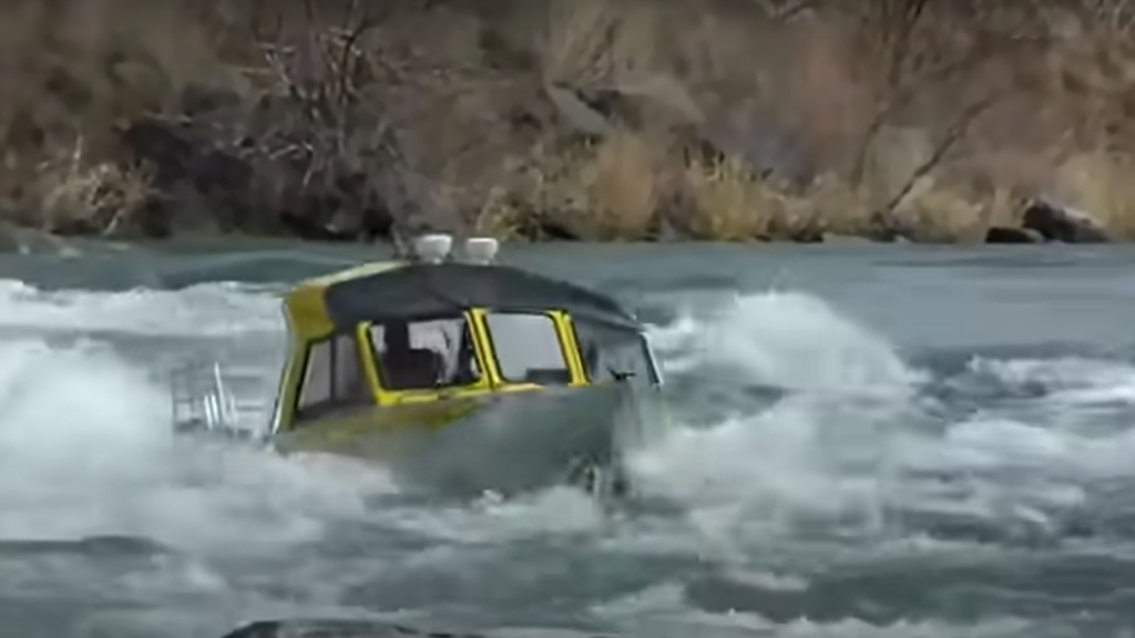 """""""Кастрюля"""" в горной реке. Видео для рыбаков"""