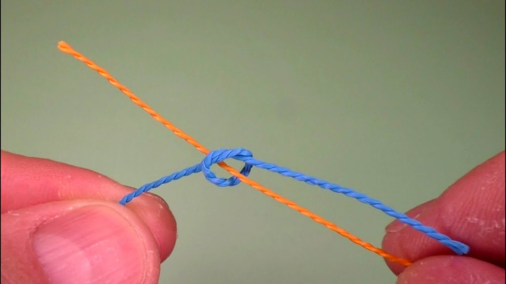 Хитрый узел для рыбака