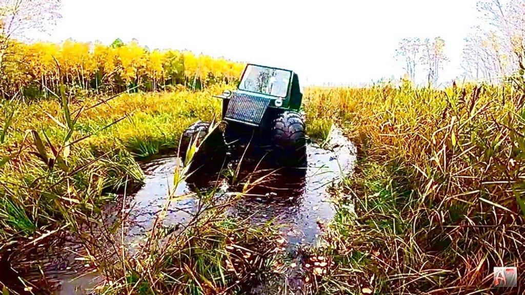 ЭТО ЧУДО!По болотам на встречу мечте. Осень на Васюгане 1 серия.Рыбалка.