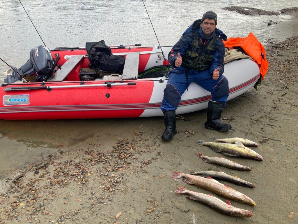 Завершение рыболовного дня 11.09.21