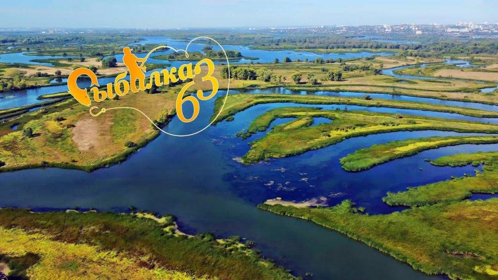 Затоны реки Максимка, Самарская область, видео с DJI mini 2