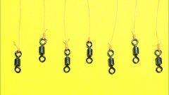Топ 7 лучших рыболовных узлов. Как привязать вертлюжок к леске. Самоделки для рыбалки