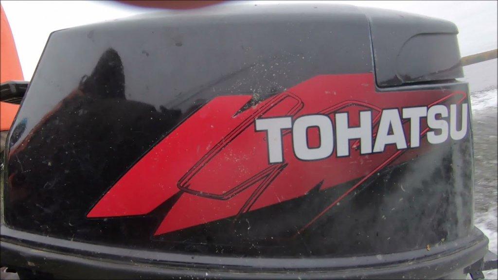 Лодочный мотор Tohatsu M 18 и лодка Прогресс Outboard motor Tohatsu M 18 and boat Progress
