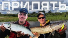 Рыбалка на Припяти осенью 2021/ Блесны незацепляйки / Осенний жерех