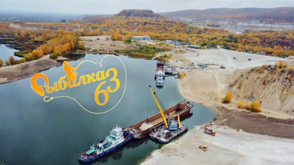 река Сок, Самарская область, Карьеры, видео в 4K с DJI mini 2