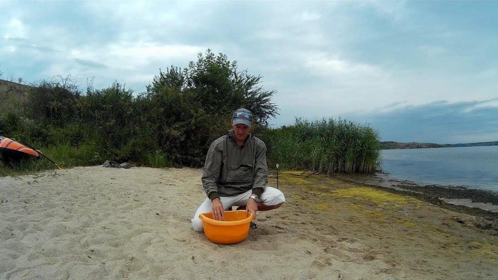 Прикорм для ловли леща на водохранилище.