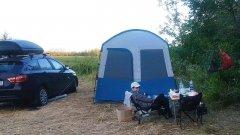 Палатка с Декатлона после двух лет. Стоит ли покупать? Quechua Arpenaz Base M