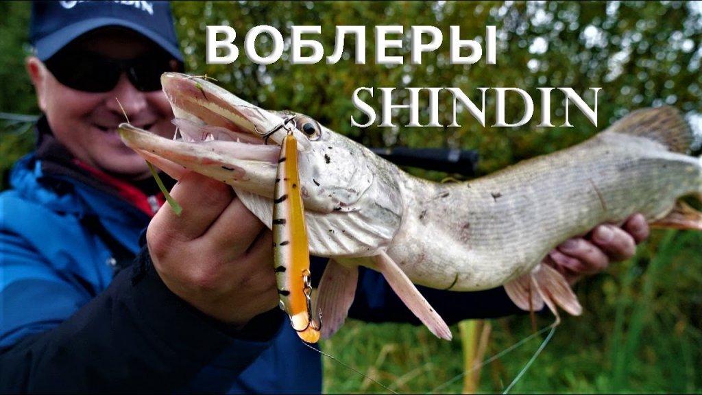 Уловистые воблеры на щуку, окуня, судака, голавля и жереха  Тестируем новинки Shindin 2021