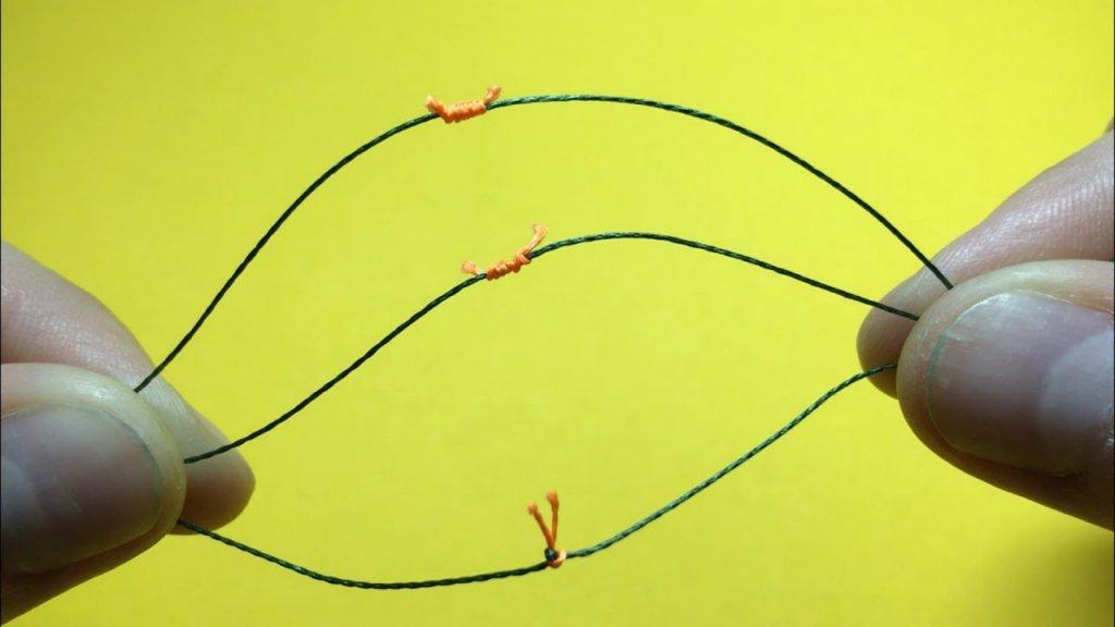 Топ 3. Как завязать стопорный узел для скользящей оснастки. Самоделки для рыбалки