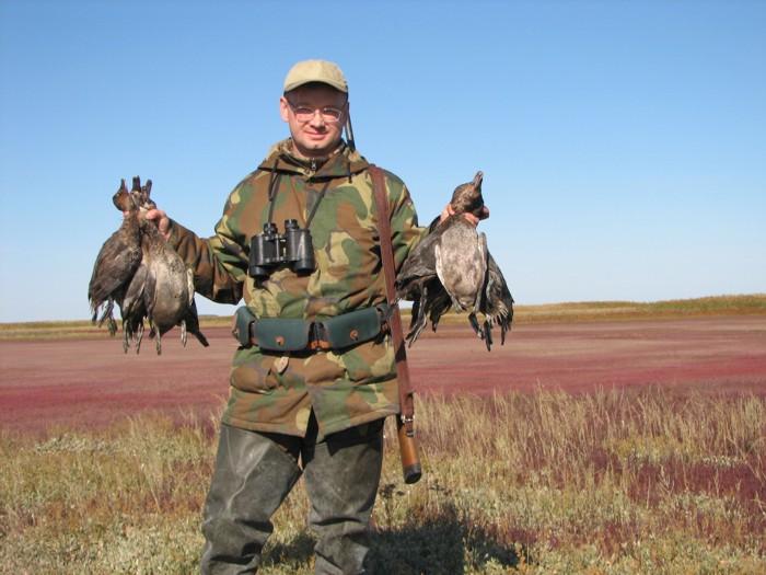 Открытие охоты. Чистые озера. Август 2007 г.