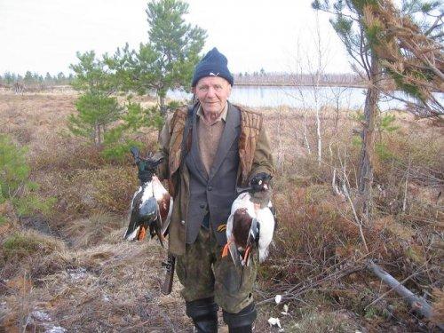 Александр Василич. Дай Бог нам всем в 75 лет охотиться.