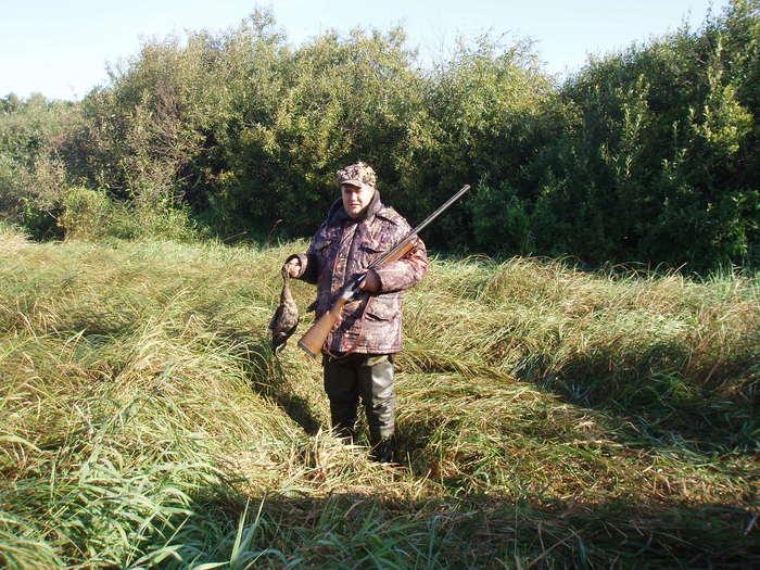 Открытие в Алтайском крае (первая охота)