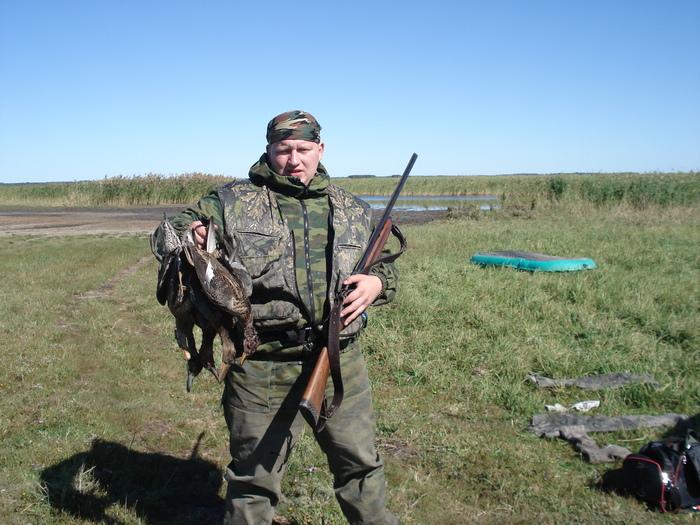 Осень 2007 оз.Карган