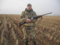 Вот так весной на гусей охотимся!