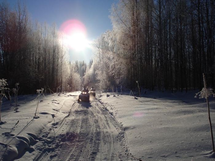 мои зимние дороги.