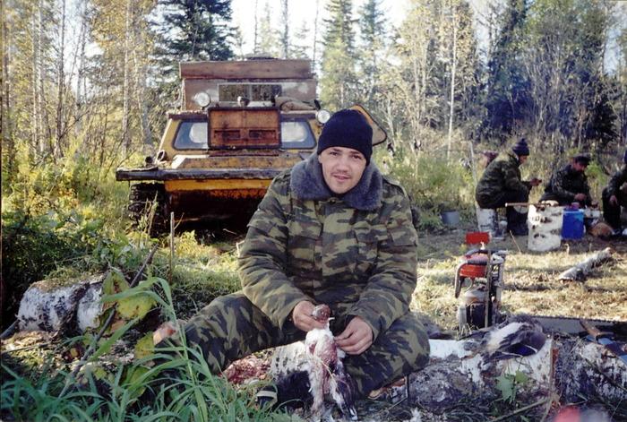 Охота в тайге в сибири