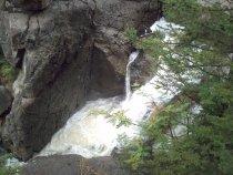Водопад вид с верху