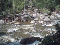ниже водопада