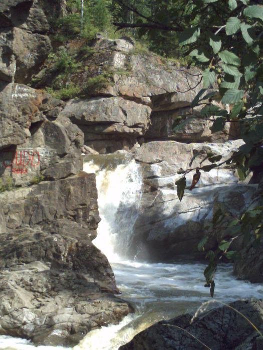 Водопад р.Богунай