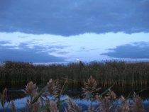 Вечерняя зорька в Хакасии