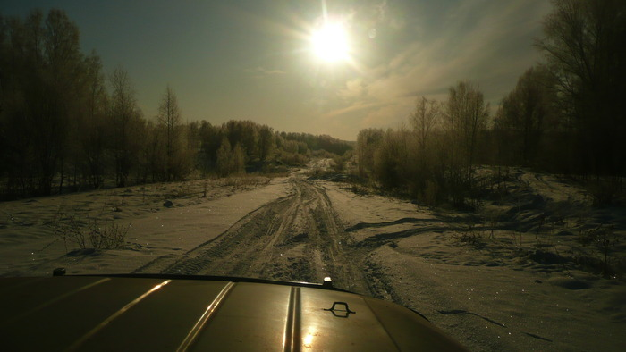 По дороге на охоту