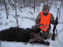 Охота на лося в Башкирии