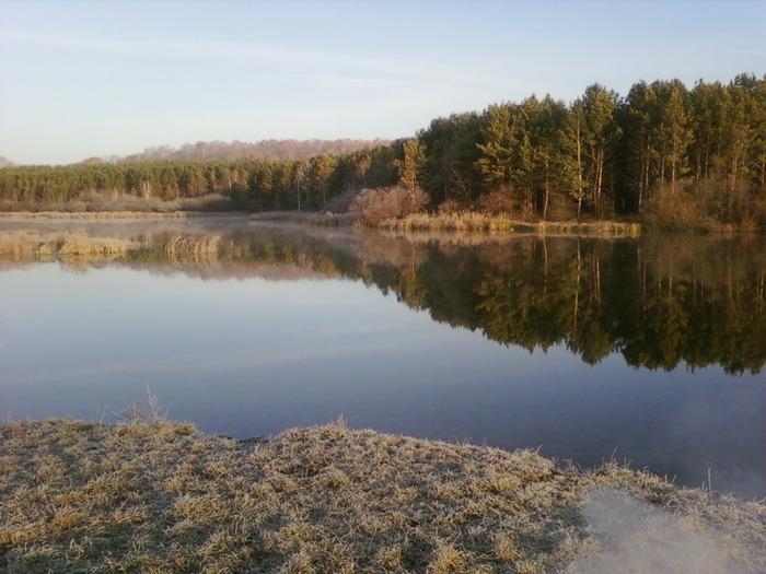 Морозное утро октября