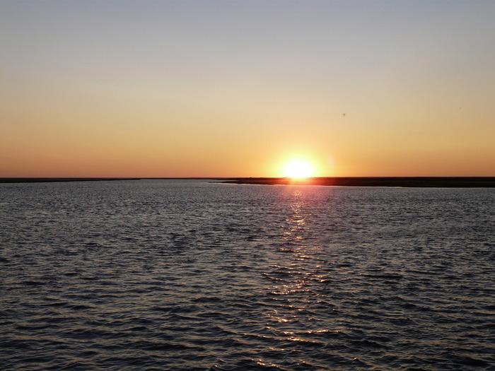 закат на Ямале