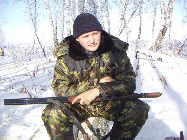 на охоте 2009г.