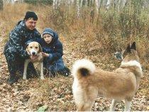 я сын и собаки,Бим и Тайга