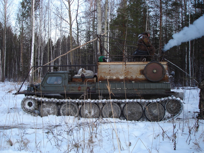 Вот такая у нас танка