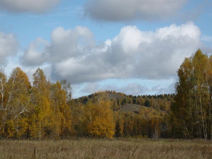 Улантова гора, сентябрь.