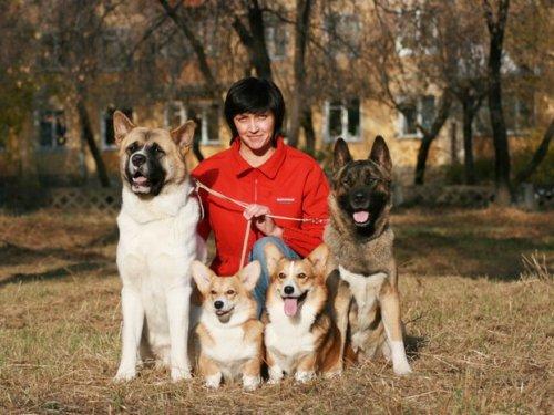 Я и мои собаки!!!