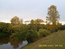 Речка Уй на севере Омской области