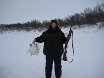 Охота на северную куропатку.
