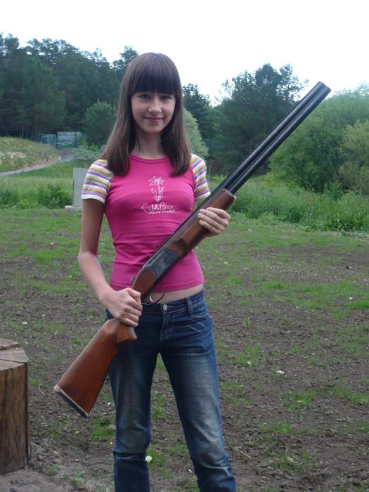 Уже пытаемся стрелять:)))