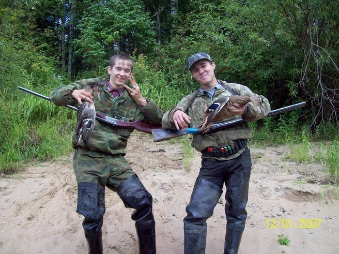 охотники