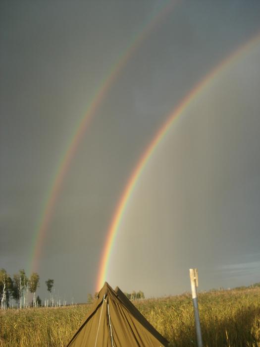 """МОХОВОЕ"" Две радуги."