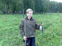 Первый трофей начинающего охотника