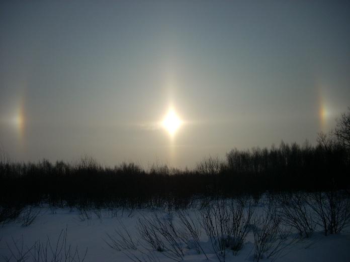 жаркое солнце Сибири!