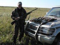 Открытие охоты осень 2009г